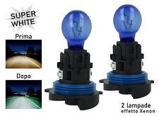 COPPIA Lampada Lampadina Luce HP24W (P24W) 12V 24W Diurne PEUGEOT/CITROEN ...