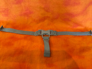 Ingenuity High Chair Booster Safety Harness Straps 3 Point Replacement Part Gray