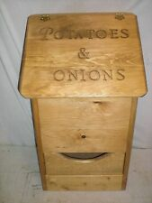 potatoe and onion bin
