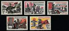 Tjechoslowakije postfris 1965 MNH 1533-1537 - Bevrijding 20 Jaar