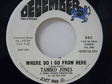 Tamiko Jones 45 Where Do I Go ... / Someone To Light Up My Life ~ VG+ to VG++