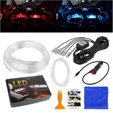 6M LED RGB Auto Lichtleiste Innenraumbeleuchtung Ambientebeleuchtung Set APP 12V