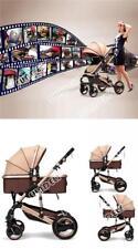 Sundely born Child Baby Carriage Foldable Travel Stroller Buggy Pushchair Pram