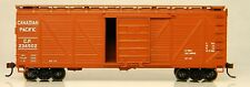 HO Roundhouse 85717 12.2m M einzeln Mantel Boxcar W/ Holz Enden CPR 234502