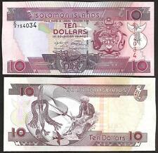 SOLOMON ISLANDS 10 Dollars 2011 UNC P 27 b