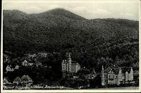 Sülzhayn am Südharz Thüringen s/w Postkarte ~1910 Teilansicht vom Kaiserblick
