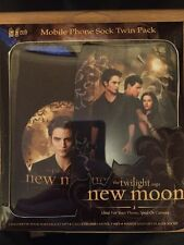 Official Twilight New Moon Gadget phone Camera sock Mobile Twin Pack Brand New!