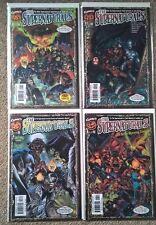 Marvel Supernaturals 1-4 complete set NM- with Halloween masks Ghost Rider