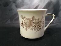 Johann Haviland Twilight Rose Coffee Tea Cup Bavaria Germany White Porcelain A+