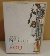 Pierrot le fou (The Criterion Collection) DVD Spine 421 OOP