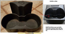 Ford Falcon Cup Holder Insert Only 2Piece Rubber Piece XT Futura Drink 2002-2008