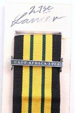 EDVII AGSM AFRICA GENERAL SERVICE MEDAL CLASP or RIBBON BAR EAST AFRICA 1914