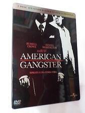 AMERICAN GANGSTER - FILM IN DVD - 2 DISCHI - STEELBOOK - COMPRO FUMETTI SHOP