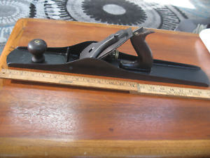 Antique Stanley No. 7 Woodworking Plane, Vintage Carpenters Tool