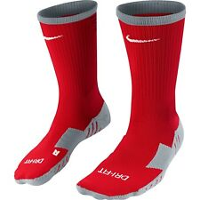 Nike Mens Ladies Team Matchfit Cushioned Crew Football Socks Gym Sports Fitness