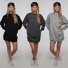Oversize Blogger Sweater 40009 Sweatshirt Pullover Pulli Hipster Longshirt