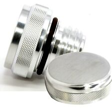 Harley Davidson Touring Road Electra Street Glide Oil Cap - Brushed Finish Style