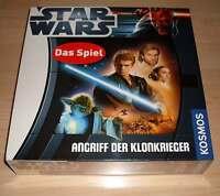 Brettspiel - Star Wars - Angriff der Klonkrieger - Kosmos - Neu OVP