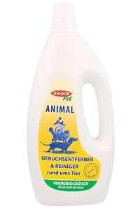 Biodor Pet Animal 1L Geruchsentferner Reiniger 1000ml 1 Liter Hund Katze