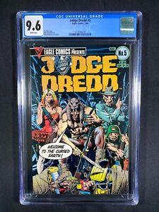 Judge Dredd #5 CGC 9.6 (1984)