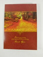 Thanksgiving Greeting Card TH9002. This Card Was Specifically Created To Show Ap