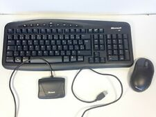 Microsoft Clavier & Souris Sans Fil Francais / Wireless Keyboard & Mouse FRENCH