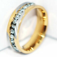 Band Rings Wedding Ring Size 9 Fashion Jewelry 2Tone 