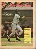Sporting News Baseball newspaper 7/7/1973, Bobby Bonds, San Francisco Giants~ VG