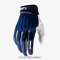 100% Prozent 2020 Ridefit Handschuhe Navy MTB DH MX BMX FR Motocross Enduro Quad