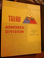 1955 Third Armored Division Spearhead Ft Knox Yearbook
