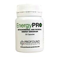 EnergyPRO Mitochondrial & Physical energy enhancer 30 capsules.