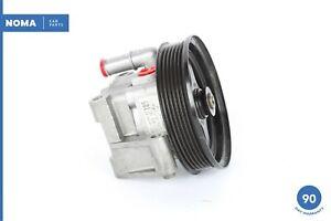 04-07 Jaguar X350 XJ8 Power Steering Pump Assembly 2W933A696AC OEM