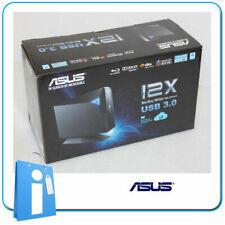 Grabadora DVD Blu-Ray Externa USB 3.0 ASUS BW-12D1S-U Grabador