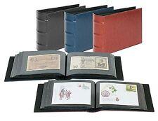 Lindner  Album für 108 Banknoten, Briefe, Fotos, Postkarten oder FDCs in schwarz