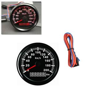 85mm Car Stainless Speedometer Waterproof Antifogging Digital Gauge IP67 Superb