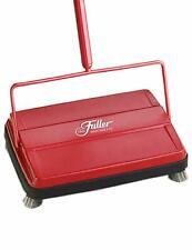 "Fuller Brush 17052 Electrostatic Carpet & Floor Sweeper 9"" Cleaning Path Red NEW"