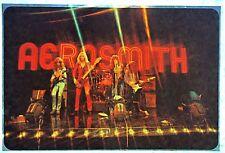 Original Vintage 70s Aerosmith in Concert Iron On Transfer Rock