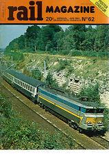 RAIL MAGAZINE N°62 LOCO DIESEL DE LA SERIE D 145 / CAUSSES ET CEVENNES / 151 TQ