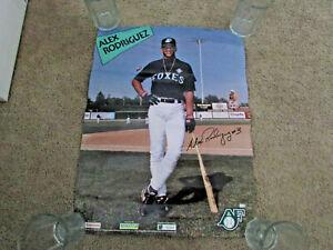 1994 Alex Rodriguez Appleton Foxes Minor League Baseball Poster SGA