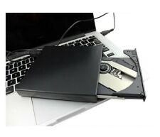 2.0 Slim External Caddy Case Enclosure for 12.7mm SATA CD DVD Burner Drive USB