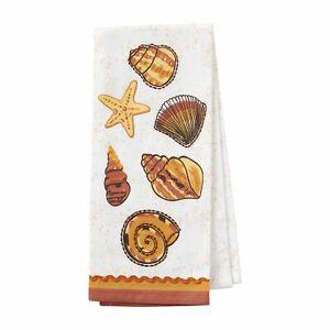 Enesco Designs by Lolita Coastal Seaside Dish Cloth Bar Towel 26 Inch