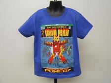 Neuf Avengers Ironman Enfant Enfants M Taille Moyenne 5-6 Chemise MARVEL 70KK