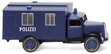 Wiking HO 1:87 086435 Police - (Opel Blitz) prisoner transp. vehicle - NEW 2015
