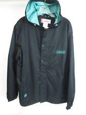 COLEMAN Outdoors Jacket Men's Hoodie Full Zip Rain Coat Men's Size Large