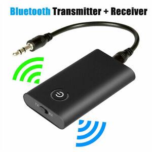 2 IN 1 sans Fil Bluetooth 5.0 Emetteur Récepteur Audio 3.5mm Jack aux Adaptateur
