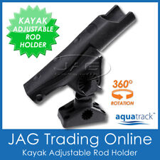 1 x KAYAK ADJUSTABLE 360º SWIVEL ROD HOLDER SIDE/DECK FLUSH MOUNT - BOAT/FISHING