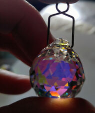 20mm ASFOUR Aurora Borealis German CRYSTAL petitte faceted ball PRISM Suncatcher