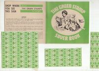 Australia NSW Green Stamp Book and stamps in cracker condition