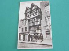 Tewksbury Old House High Street Shopfront UK Postcard