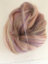 Pastel Rainbow 10g Merino Bamboo  Mix Felting, Fibre Arts, Spinning Crafts